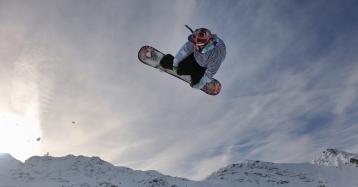 snowboard winter sport extreme jump