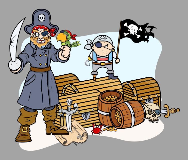pirate-captain-black-and-team-with-treasure-vector-cartoon-illustration_fkV-30dO_L