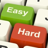 Crop Hard-easy-computer-keys-showing-the-choice-of-difficult-or-simple-way_Mk2sV7vu
