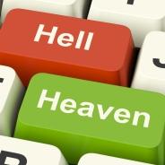 Crop Heaven-hell-computer-keys-showing-choice-between-good-and-evil-online_G1aCTQDu