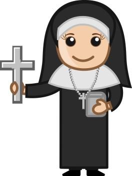 cartoon-nun-woman-asking-for-donation_G1_4Kkud_L