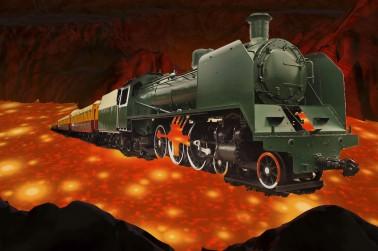 train lava